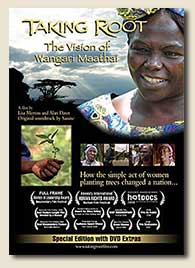 Taking Root Film DVD cover