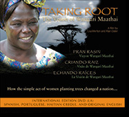 International Editions DVD cover fo Taking Root Film